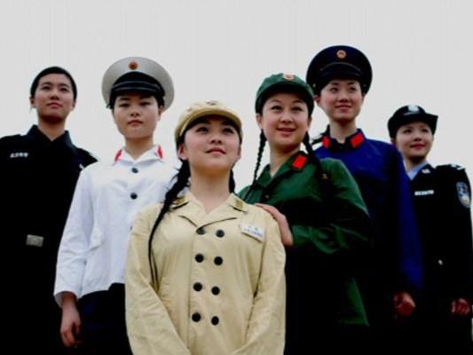 中国警察服装的变迁历史